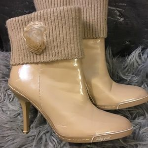 Baby phat mid high boots